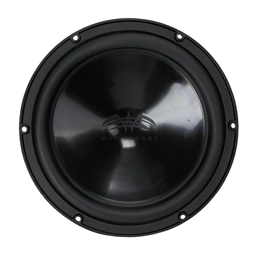 wet sounds sw 10fa s4 b v2 black 10 single 4 ohm free. Black Bedroom Furniture Sets. Home Design Ideas